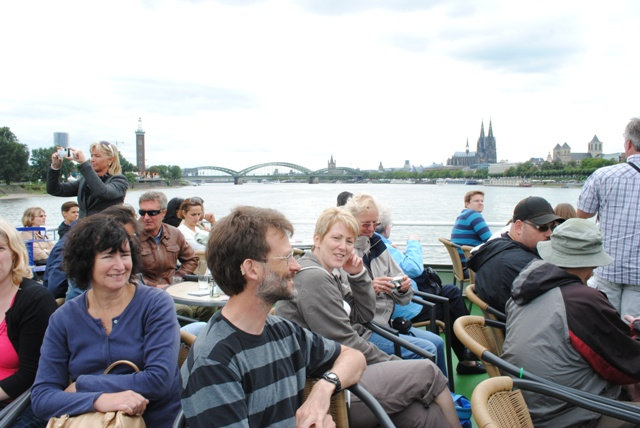 Cologne Boat Trip